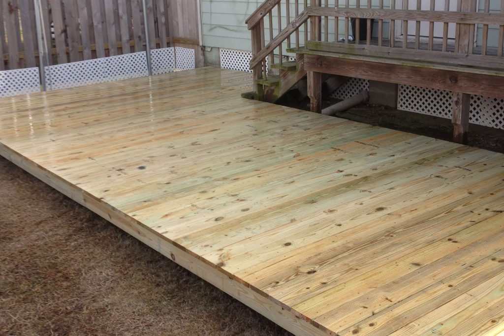 Wood Decks Impact Fence And Deck